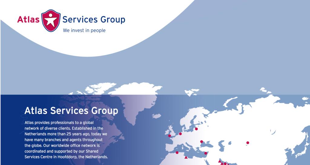 Atlas Services Group brochure editing