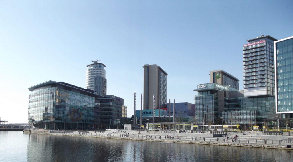 Media City Salford Quays